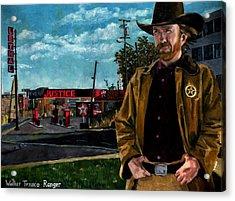 Walker Texaco Ranger Acrylic Print by Thomas Weeks