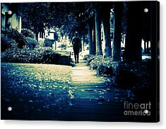 Walking A Lonely Path Acrylic Print