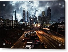 Walking Dead Tribute Downtown Atlanta Georgia  Acrylic Print