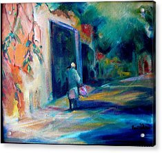 Walking Home Acrylic Print by Pippi Johnson