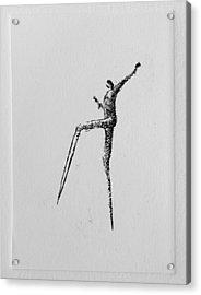 Walking II Acrylic Print by Valdas Misevicius