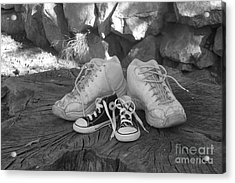 Walking In My Shoes Acrylic Print