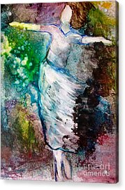 Walking In The Spirit Acrylic Print