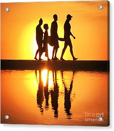 Walking On Sunshine Acrylic Print