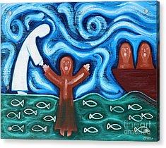 Walking On Water 2 Acrylic Print by Patrick J Murphy