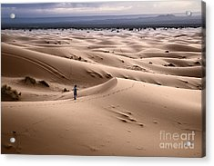Walking The Desert Acrylic Print by Yuri Santin