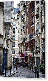 Walking The Streets Of Paris Acrylic Print
