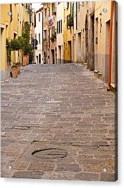 Walking Through Montepulciano Acrylic Print by Rae Tucker