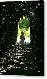 Walking Towards Light Acrylic Print