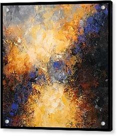 Walking Towards The Light Acrylic Print by Suzzanna Frank