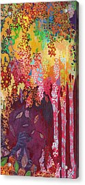 Walking With The Forest Spirits Part 3 Acrylic Print