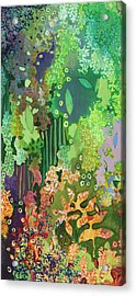 Walking With The Forest Spirits Part I Acrylic Print