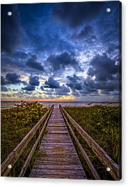 Walkway To Tomorrow. Acrylic Print