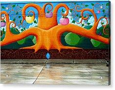Wall Art 2 Acrylic Print by William Jones