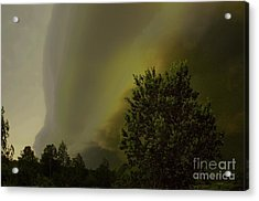 Wall Clouds Acrylic Print by The Stone Age