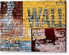Wall Acrylic Print by Curtis Staiger