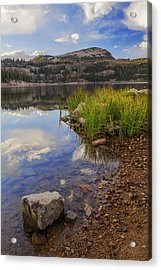 Wall Lake Acrylic Print by Chad Dutson