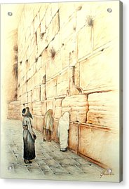 Wall Acrylic Print by Lena Day