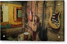 Wall Of Art And Sound Acrylic Print