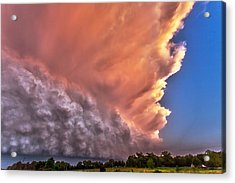 Wall Of Boiling Clouds Acrylic Print