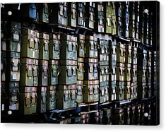 Wall Of Containment Acrylic Print