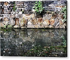 Wall Reflection Acrylic Print by Kathy Daxon
