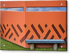 Wall With A View Acrylic Print