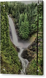 Acrylic Print featuring the photograph Wallace Falls by Jeff Swan