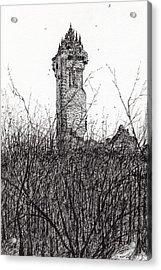 Wallace Monument Acrylic Print