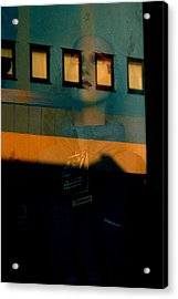 Walled In In This Odd World Acrylic Print by Jez C Self