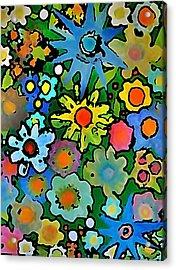 Wallflowers Acrylic Print by Gregory McLaughlin