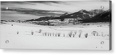 Acrylic Print featuring the photograph Wallowa Mountains by Cat Connor