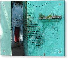 Walls Acrylic Print