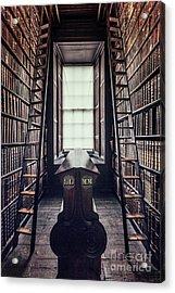 Walls Of Books Acrylic Print