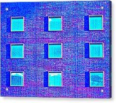 Walls Of Windows Acrylic Print by Gillis Cone