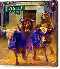 Wall Street Il Acrylic Print