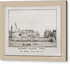 Walmer Castle Kent Acrylic Print