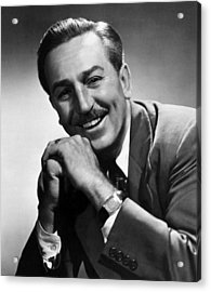 Walt Disney, 1955 Acrylic Print by Everett