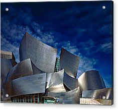 Walt Disney Concert Hall Acrylic Print by Anthony Dezenzio