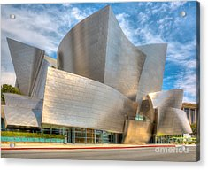 Acrylic Print featuring the photograph Walt Disney Concert Hall - Los Angeles by Jim Carrell