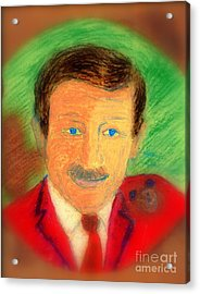 Walt Disney It's In The Ears Acrylic Print by Richard W Linford