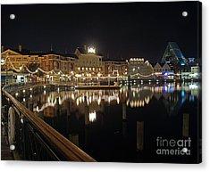 Walt Disney World - Boardwalk Villas  Acrylic Print by AK Photography