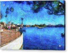 Walt Disney World Epcot World Showcase Lagoon Pa 03 Acrylic Print
