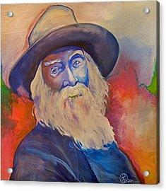 Walt Whitman Acrylic Print by Robert Lacy