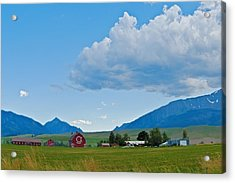 Walter Brennan Rockin Ok Ranch Acrylic Print