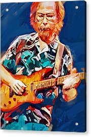 Uncle Walter Acrylic Print by Scott Waters