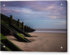 Walton On The Naze Beach Acrylic Print