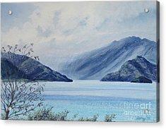 Wanaka Lake Acrylic Print