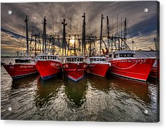 Wanchese Fish Company Acrylic Print by Jerry Gammon