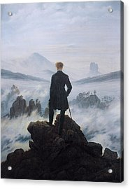 Wanderer Above The Sea Of Fog Acrylic Print